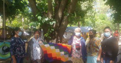 VIDEO | Las maestras artesanas Delmira y Pocha estuvieron presente del Encuentro de Mujeres Rurales